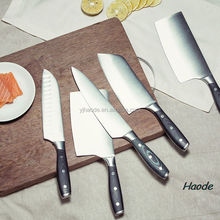 Top quality German steel 1.4116 kitchen knife with micarta handle knife set