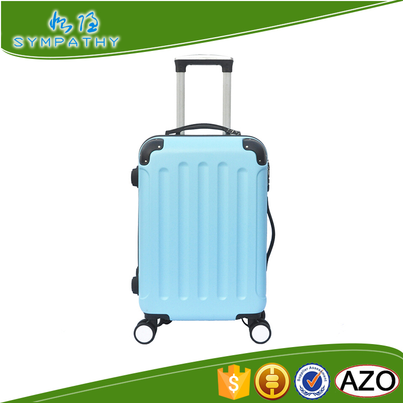 cheap custom made brand urban fabric luggage factory wheel for suitcase