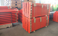 Cold rolled steel box beam for pallet racking.iron beam made in china