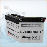 Powerful sealed lead-acid battery for motercycle