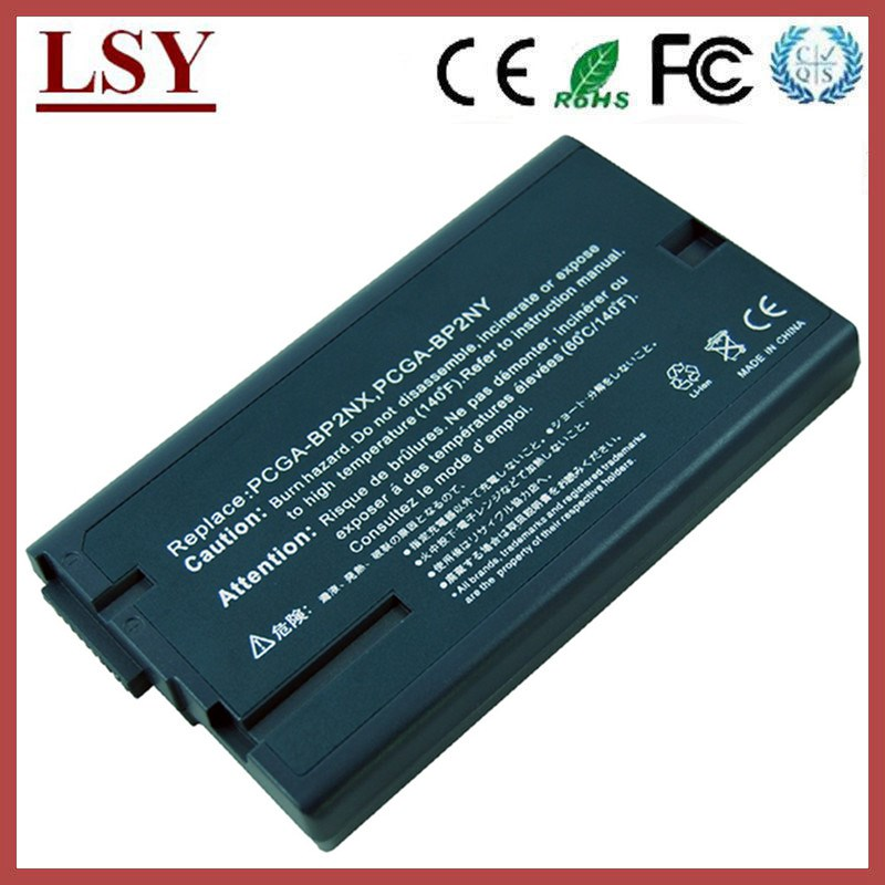Replacement laptop battery for Sony BP2NX PCGA-BP2NY battery PCG-GRS100 PCG-GRS700 notebook battery