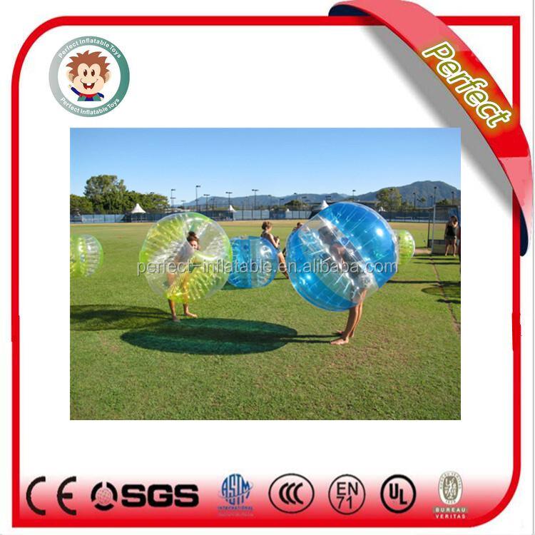new design and durable human inflatable bumper bubble ball