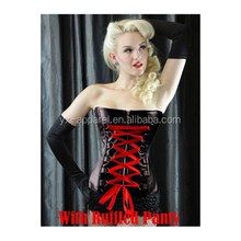 Steampunk Gothic Clothing Women Plus Size Sexy Lingerie Leather Underwear Corset