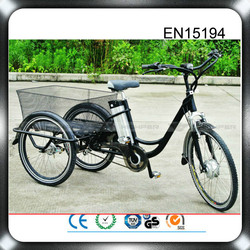 2015 direct factory supply 48v 500w electric tricycle for adults