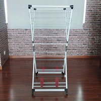 Powder Steel Multifunctional Folding Clothes Hanger Rack/Clothes Dryer Rack