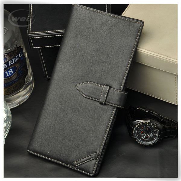 wholesale pu leather cardboard credit card leather wallet