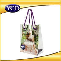 New Arrival Printing PVC Tote Shopping Bag