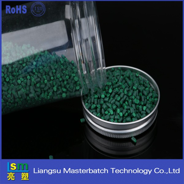green master batch pet plastics