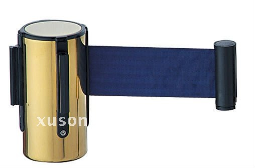 Luxurious titanium blue belt cassette for barrier