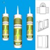 Best selling JY820 high temp clear one component 100% rtv silicone sealant