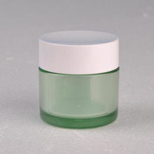 Natural Disposable Plastic Jar for Arts & Crafts cream lotion bottles