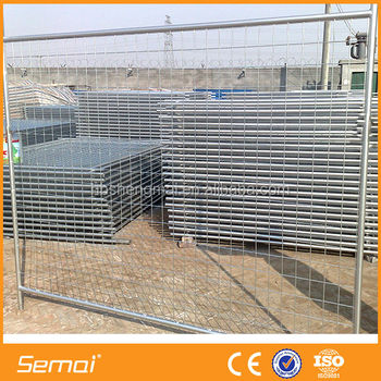 SEMAI Factory Direct Supply Galvanized Temporary Metal Fence (Manufacturer & Exporter)