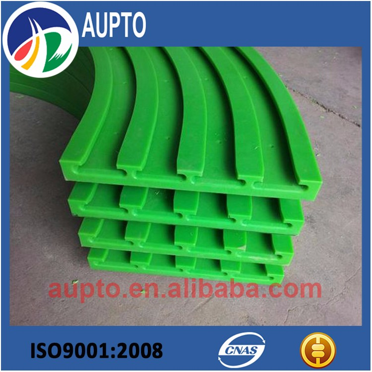 UHMWPE chain track profile polymer conveyor chain tensioner guide