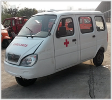 2016 new design tricycle ambulance