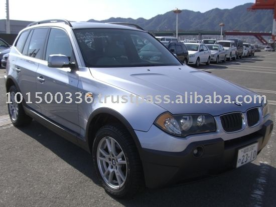 Used BMW X3 SUV RHD Car
