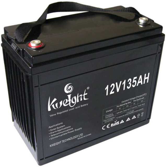 12volt 135ah Maintenance free high quality agm lead acid battery