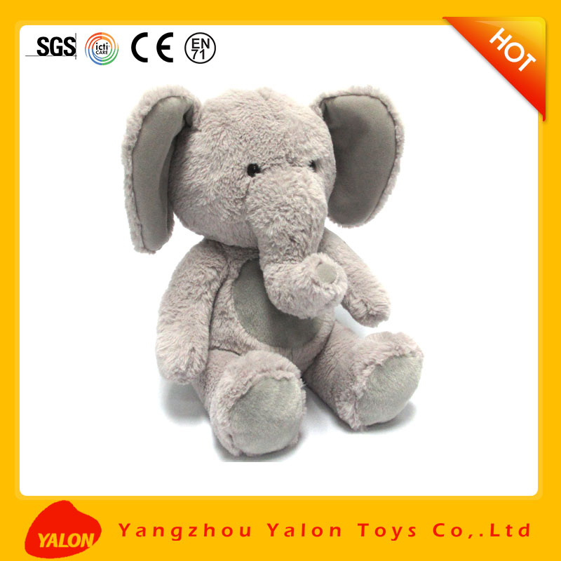 Christmas stuffed cartoon character elephant plush toy for baby