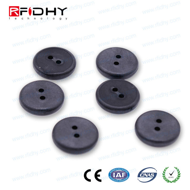 newest materials and antenna design anti-damage washable rfid tags rfid pps+epoxy laundry tag for textile services pr