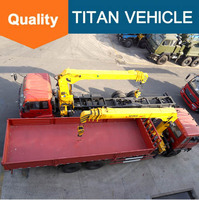 8 ton 10tones to 25 ton Mobile Truck Mounted Crane truck for sale