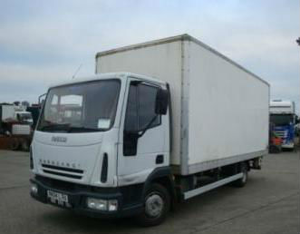Iveco Eurocargo Box Van 2004 Truck RHD Right Hand Drive