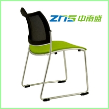 891 chrome legs stackable plastic meeting chair