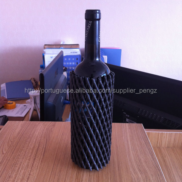 foam protective net for wine bottle package