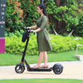 Double rear wheels design to flexible luggage scooter children Lithium 48V 20Ah