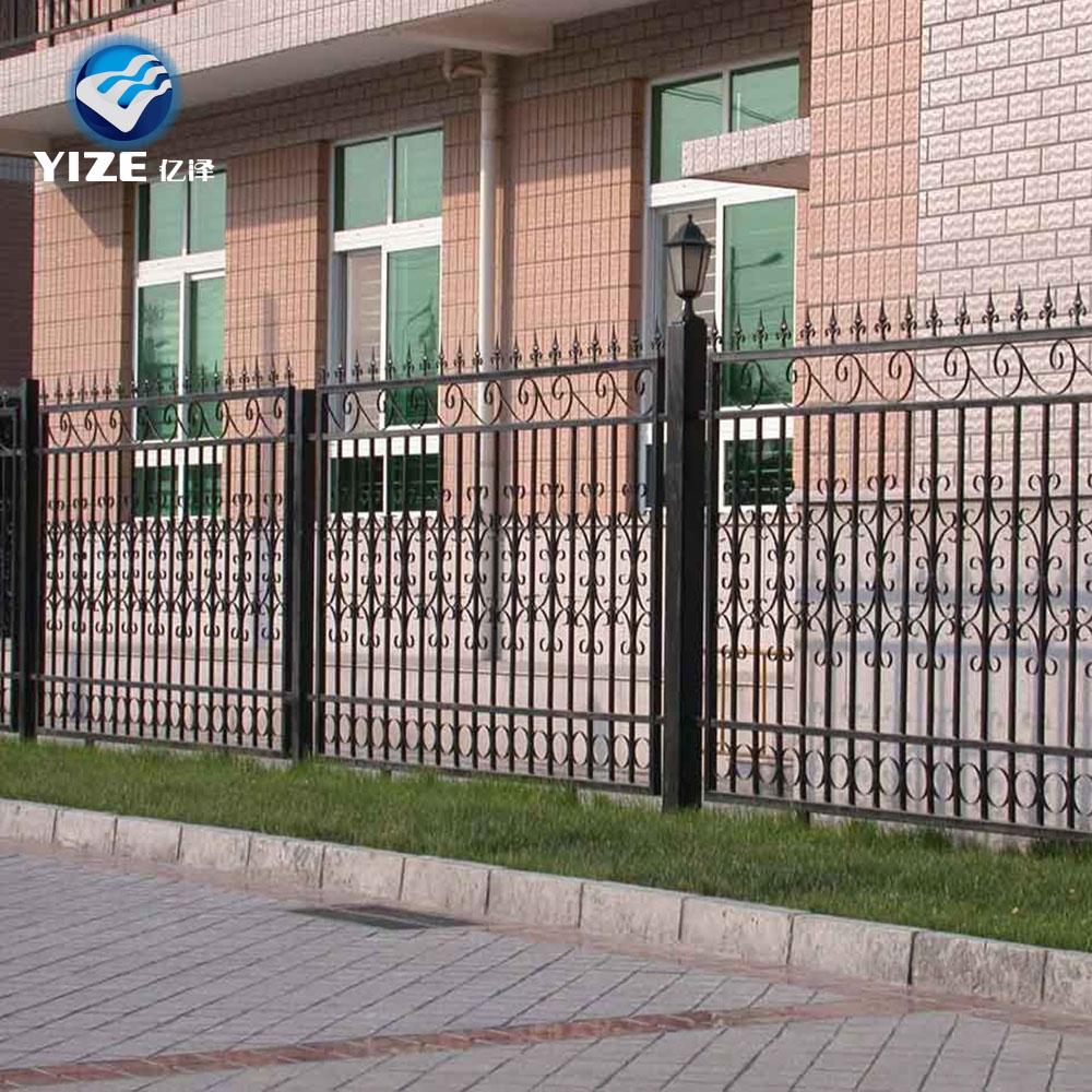Nuevo producto m s excelente de metal de acero vallas dise os para valla de acero - Vallas de metal ...
