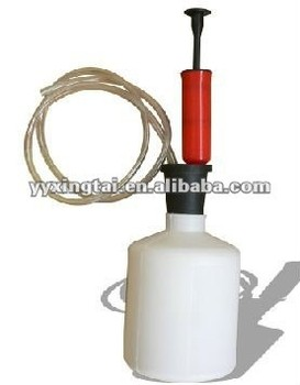 manual hand siphon pump for liquid transfer