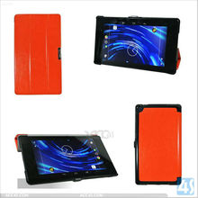 Ultra-thin Folio Stand Leather Case with Three Folding for Google New Nexus 7 2nd P-GGNEXUS7IICASE015