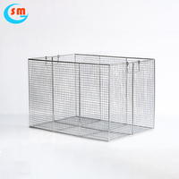 Hot Selling High Flexibility Metal Wire Hanging Baskets,Mesh Basket,Industrial Wire Baskets