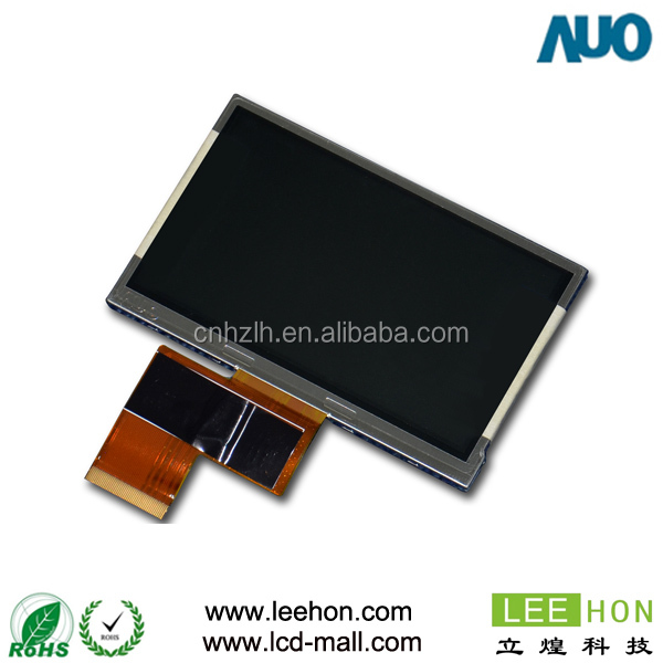 A040CN01 V3 AUO 4 inch LCD screen 480x234 for Visual doorbell,Digital cameras
