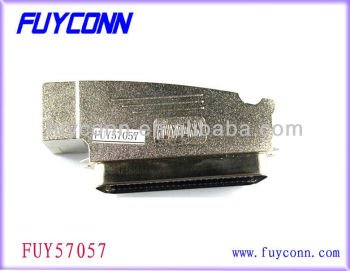 0.085in pitch Amphenol 957M1002102 Centronic Male IDC 100P Connector with Zinc Cover