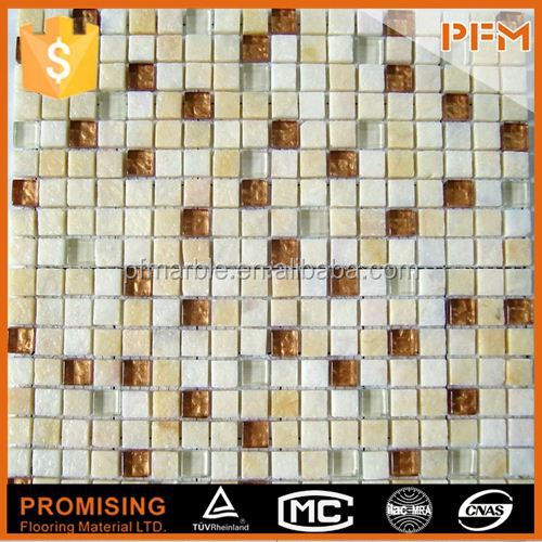 2015 factory price natural travertine kitchen and bathroom and hotel tiles stone mosaic