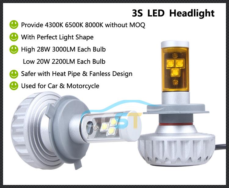 Cst 3s Led Headlight H4