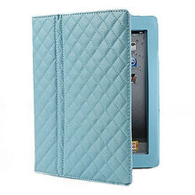 10 1 tablet leather case for ipad 2/3 with Stand