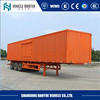 Hot sale 3 axles detachable side wall cargo trailer