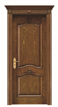Top KENT DOOR Hotel Room Door/ Solid Wood Arch Door/ Office Door Design PLT-W03