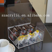 Storage Boxes & Bins Type and Eco-Friendly Feature acrylic food storage containers