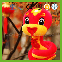 High qualith china custom plush snake toys
