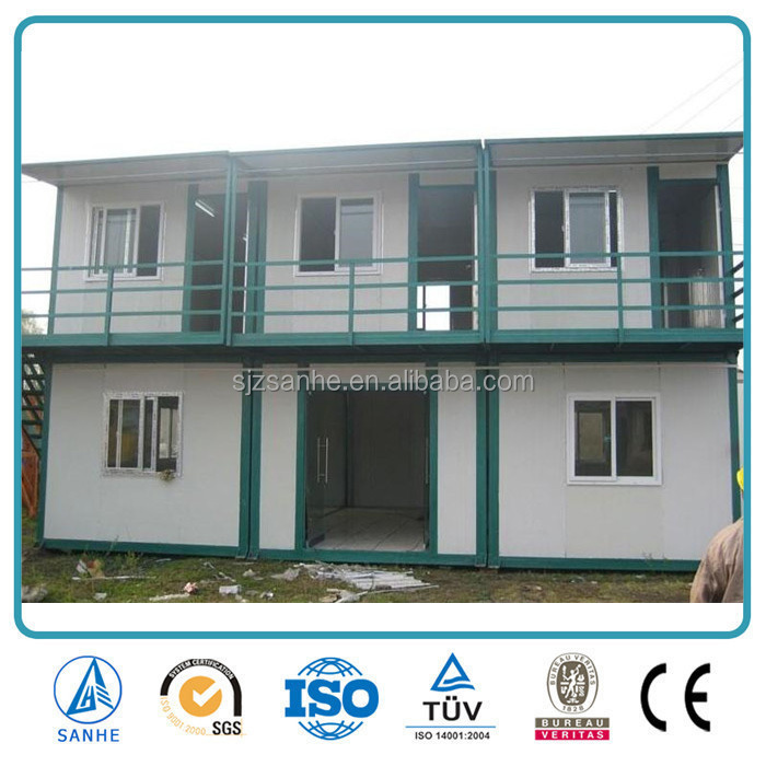 Living prefabricated export prefab container house
