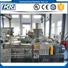 Small Two Screw Extruder Plastic Products Making Machine/Plastic Granule Price Per Kg Recycled Abs Pp/pe Pelletizer
