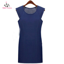 Guangdong factory directly supply western fashion cheap brand name cute sleeveless summer dress
