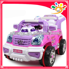 Pink Jeep R/C RIide On Car,Lovely Girls Jeep Ride On Car For Sale