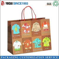 Different style clothing packaging bag