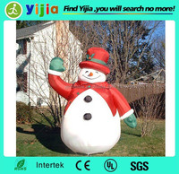 Happy new year custom design giant christmas inflatable snowman