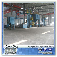20 ton sand process resin sand casting machine for foundry
