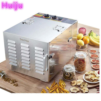 Stainless steel 6 trays /10 trays home mini fruit dehydrator HJ-CM009