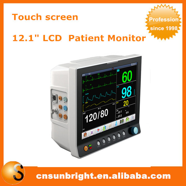 Internet trolley patient monitor