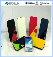 New Dual color Wallet PU Leather Stand case for LG G Pro2
